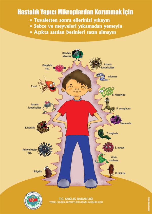 Sağlık sağlıklı yaşam sağlık haftası konulu afişler
