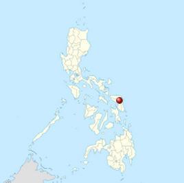 Samar Adası Haritası