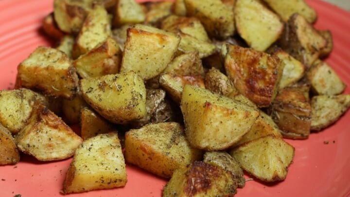 Biberiyeli Fırında Patates