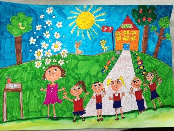 Öğretmenler günü çizimleri