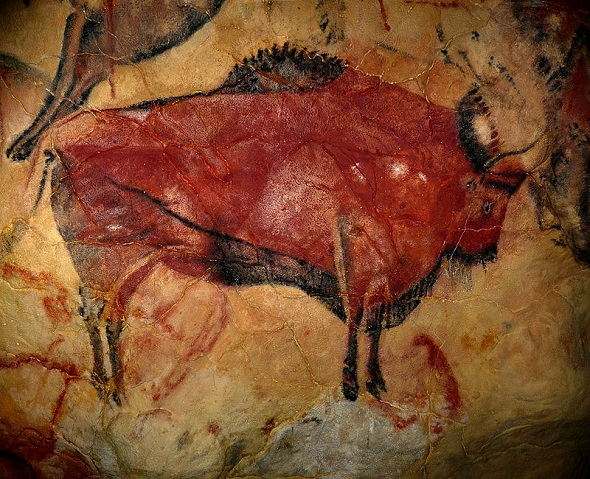 Altamira Mağarası Bizon Çizimi