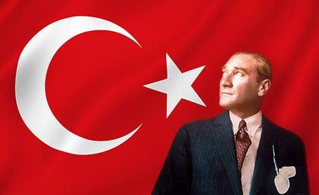 Atatürk ve Türk Bayrağı