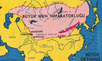 Büyük Hun İmparatorluğu Haritası
