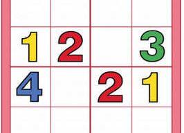 Çocuklar İçin Sudoku (Yazdırılabilir)