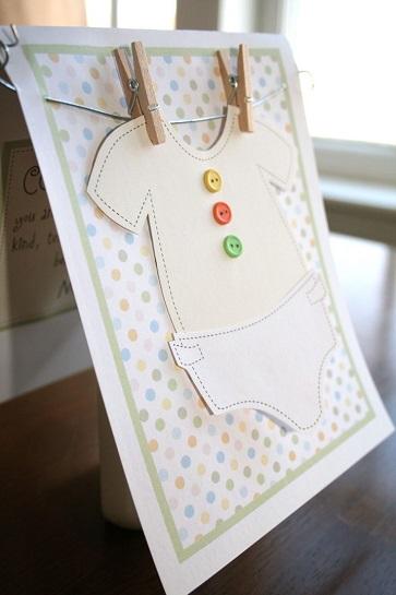 Hoşgeldin Bebek Partisi Davetiye
