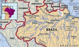 Paru Irmağı Haritası
