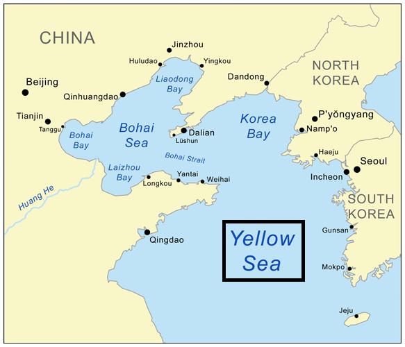 Sarı Deniz Haritası