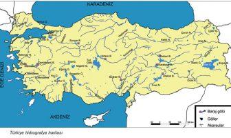 Türkiye suları harita