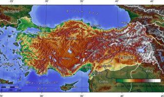 Türkiye Topografik Haritası