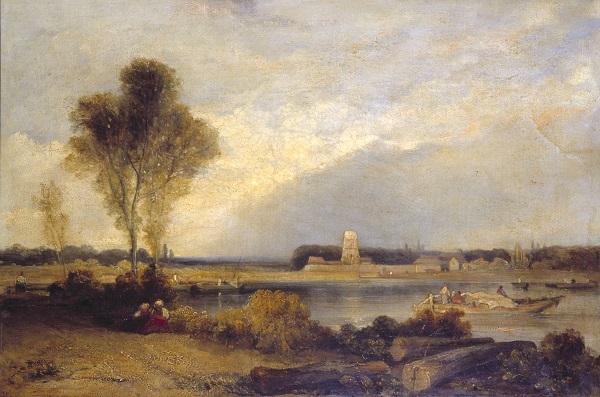 Landscape in Normandy null by Richard Parkes Bonington 1802-1828