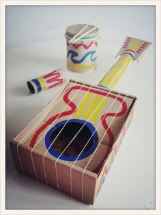 Как самим сделать музыкальные инструменты