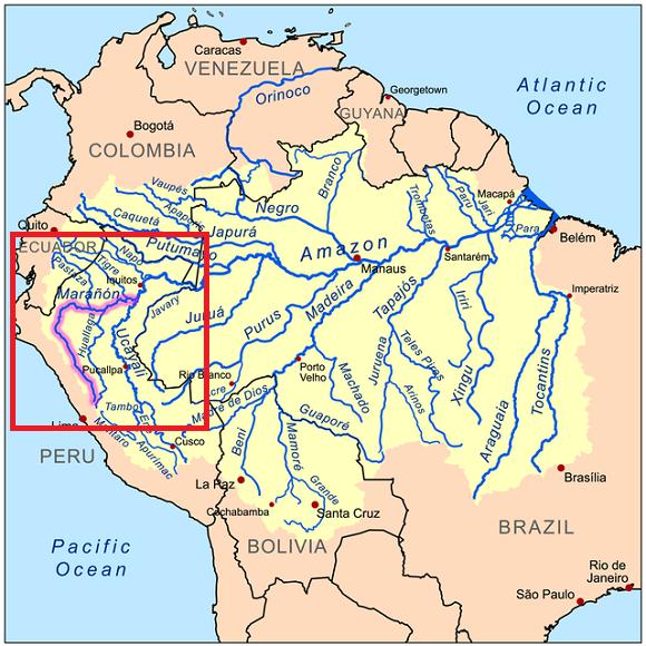 Marañón Irmağı