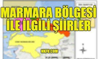 Marmara Bölgesi İle İlgili Şiirler