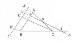 Menelaus-Teoremi