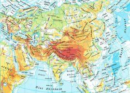 Asya Kıtasının Yeryüzü Şekilleri