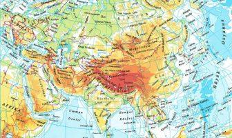 Asya Fiziki Haritası