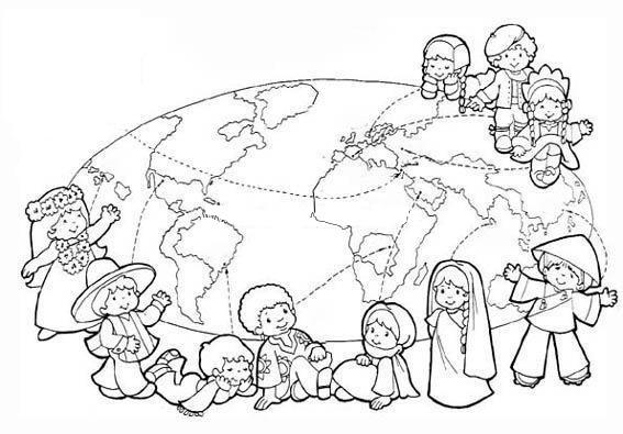 Dünya Çocuk Günü Boyama
