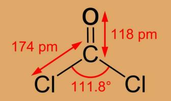 Fosgen Kimyasal Formülü