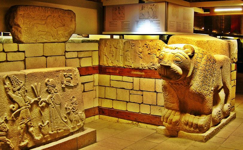 Anadolu Medeniyetleri Müzesinden antik sanat, Ankara