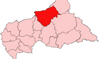 Bamingui-Bangoran Harita