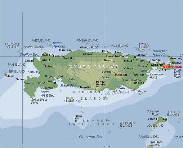 Amiral Adaları
