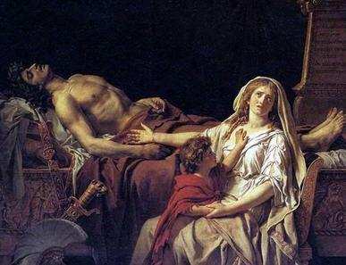 Andromakhe ve Eşi Hektor