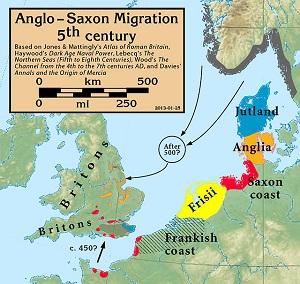 Anglosakson Göçler