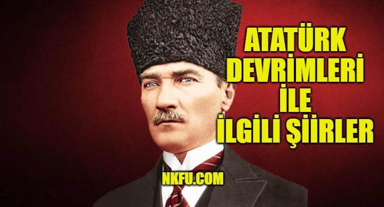 Atatürk Devrimleri Şiir