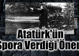 Atatürk'ün Spora Verdiği Önem Nedir? Atatürk ve Spor Konulu Yazı
