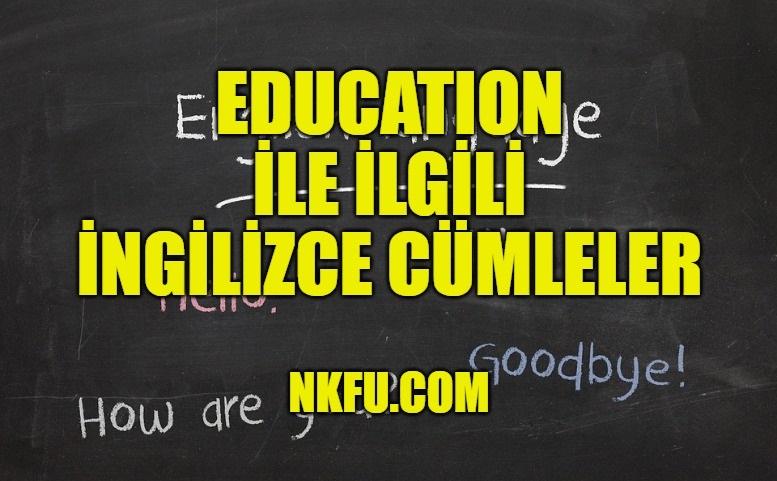 Education (Eğitim)