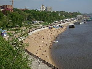 Amur Irmağı kıyısında yer alan Khabarivsk