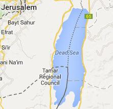 Lut Gölü Haritası