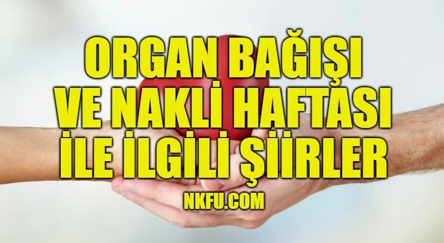 Organ Bağışı Şiirleri