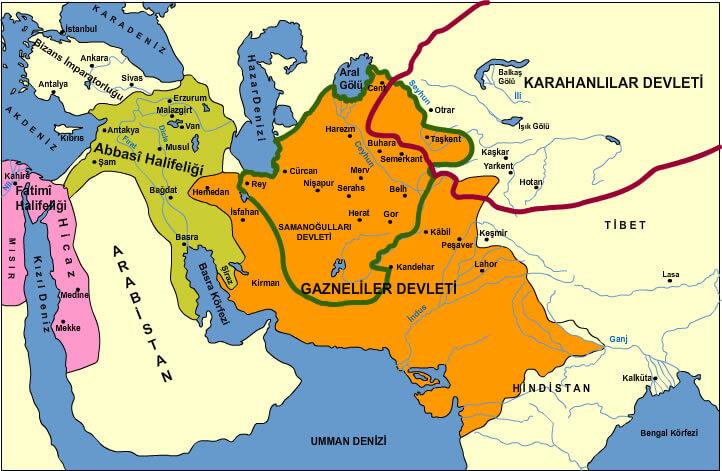 Türk İslam Devletleri