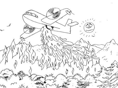 Yangından Korunma Haftası Boyama Sayfaları