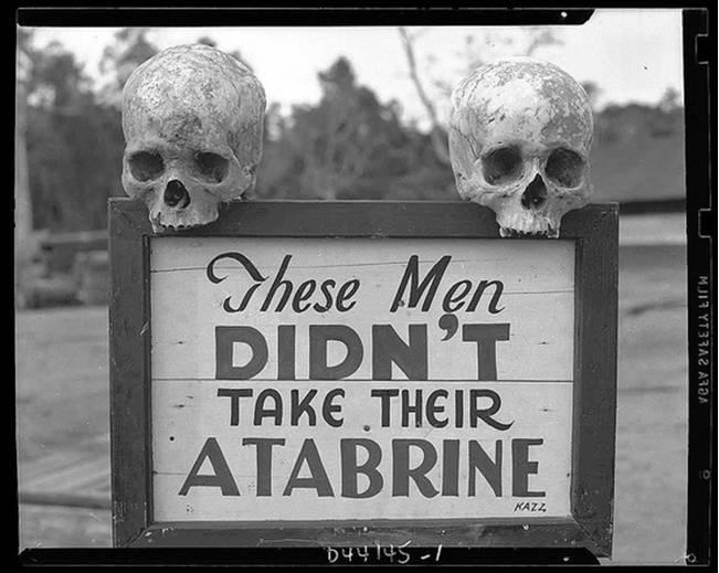 Atabrine Reklamı