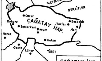 Çağatay İmparatorluğu Haritası