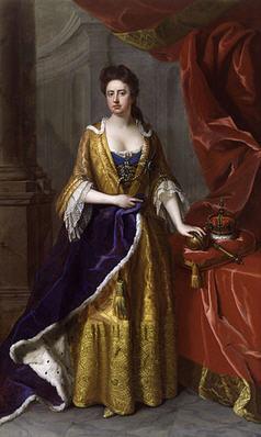 1705 yılında Michael Dahl tarafından yapılmış Anne Stuart portresi