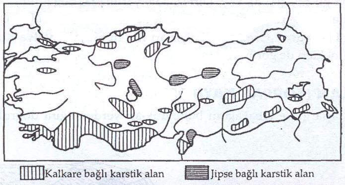Karstik Şekil Haritası