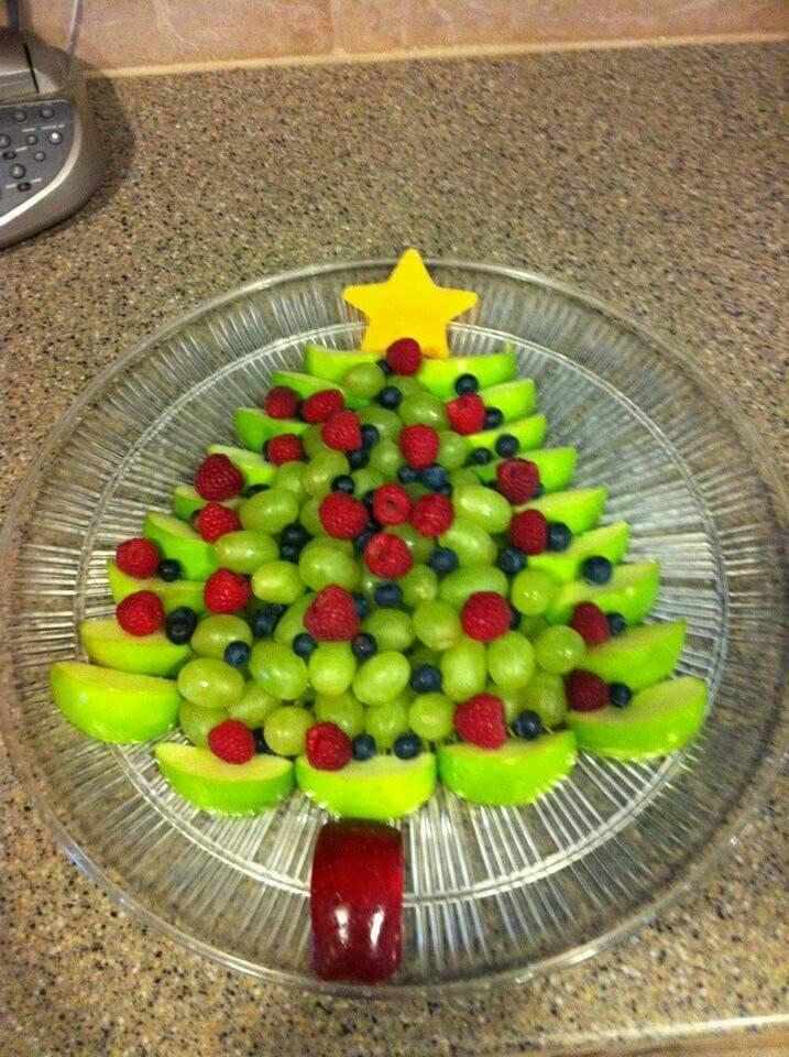Meyveden Yılbaşı Ağacı