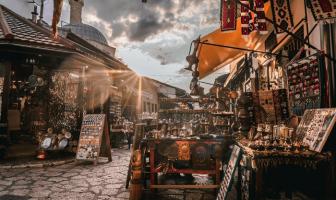Saraybosna Bakırcılar Çarşısı
