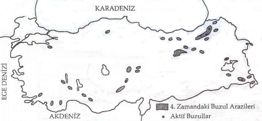 Türkiye Buzul Haritası