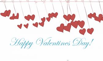 İngilizce Sevgililer Günü Kartları