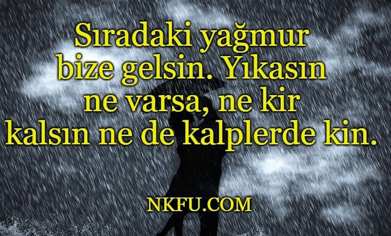 Romantik Yağmur Sözleri