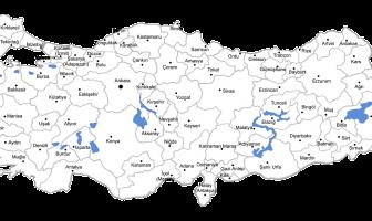Türkiye 81 İl Haritası