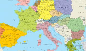 Avrupa Siyasi Haritası
