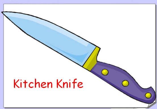 Resimli İngilizce Mutfak Eşyaları