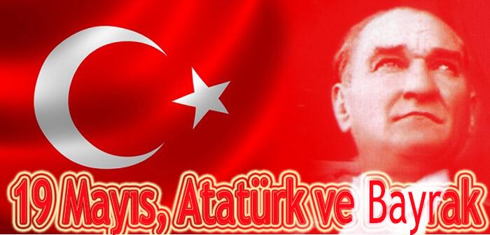 19 Mayıs, Atatürk ve Bayrak