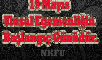 19 Mayıs İle İlgili Sloganlar