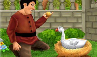 Altın Yumurtlayan Kaz Hikayesi (Ezop)